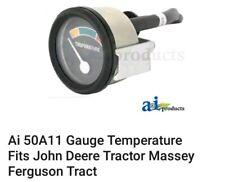 Ai 50A11 Gauge Temperature Fits John Deere Tractor Massey Ferguson