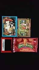 1994 Collect-A-Card Power Rangers Series 2 Complete Set And Foil Insert Set