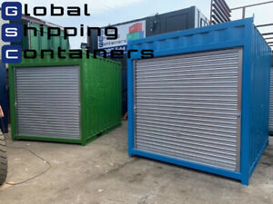 10ft x 8ft Roller Shutter Shipping Container (Bury Area)