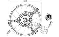 NRF Ventilador, refrigeración del motor VOLKSWAGEN PASSAT AUDI A4 SEAT 47023