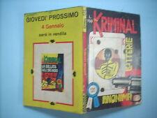 KRIMINAL N°131 SPEDIZIONE € 2,50 FINO A 10 FUMETTI