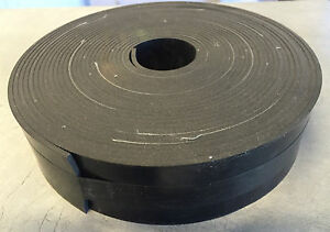 Natural Rubber Insertion Strip 25MM wide x 1.5mm thick (10 mtr roll)