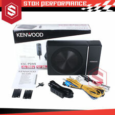 Kenwood Ksc-psw8 250w Under Seat Active Subwoofer With Bass Controller