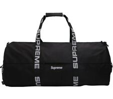 SUPREME SS18 CORDURA DUFFLE BAG BLACK, LARGE Sold Out ✅ 100% Authentic