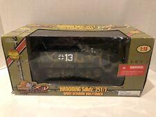 Ultimate Soldier 1/18 Hanomag Sdkfz. 251/1 WWII German Halftrack Dark Green