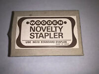 Vintage Wooden Novelty Stapler Owl Made In Japan New With Box
