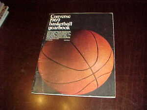 1969 Converse Basketball Yearbook