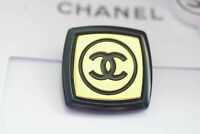 Six  Authentic Chanel Button 6 pieces  gold  💋😍😘👍XXL 25 mm 1 inch cc gold