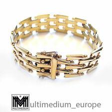 333 er Gold Armband gold bracelet Art Deco Stil