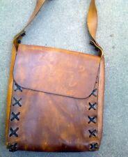 Loggins and Messina Leather Record Promo Shoulder Bag Rare Vintage/ MAKE OFFER