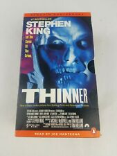 Thinner by Richard Bachman and Stephen King 1996 Cassette Unabridged