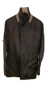 Aquascutum Raincoat Size Medium (folds into its own bag)