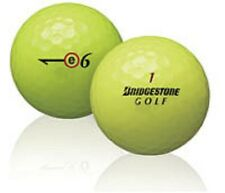100 Bridgestone E6 Yellow Used Golf Balls AAA+