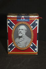 REBELS, 1861-1961 COMMEMORATIVE CIGARETTE PACK for DISPLAY  wz-qm PROP