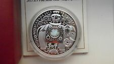 2013 Canada $15 Maple of Peace Elephant Silver Proof coin in OGP