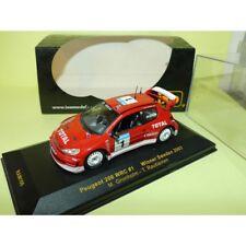 PEUGEOT 206 WRC RALLYE DE SUEDE 2003 GRONHOLM IXO RAM106 1:43 1er défaut