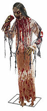Halloween LifeSize ZOMBIE MAN EATER Standing Prop Haunted House NEW