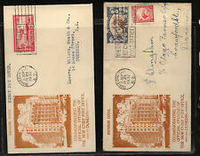 New Zealand  2 cachet covers  of Post Office Dunedin        MS021