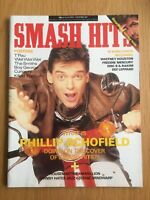 Smash Hits Magazine Nov 87 George Michael, Boy George, Morrissey VG Cond