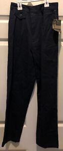 NWT Lee School Girls Size 12 Slim Navy Blue Uniform Pants