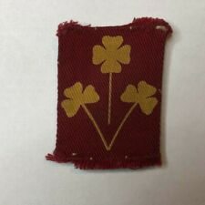 More details for ww2 8th infantry division (india) 1940-46 cloth formation badge patch original