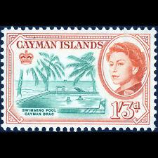 Cayman est 1962-64 1 S 3d piscine. SG 175. frais légèrement charnière Comme neuf (BH409)