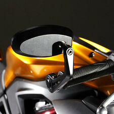 US Black Motorcycle Bar End Mirrors For Triumph Tiger 800 XCX XR XRX 800XC 955i