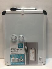 """Pen + Gear Magnetic Dry Erase Board, Magnetic 8.5"""" x 11"""" (White) NEW"""