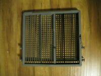 LG AHB73129401 Dishwasher Third Level Dishrack Assembly Genuine OEM part