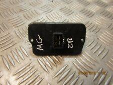 MG ZR HEATER RESISTOR TROPHY 105 1.4 105 BHP 3 DOOR 5 SPEED 2005