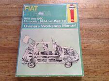 Fiat Strada 1979 1980 All Models Owners Workshop Manual Haynes New
