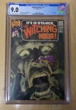 WITCHING HOUR #13 1971 AMAZING NEAL ADAMS CGC 9.0 OFF WHITE TO WHITE