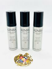 KENRA 17 VOLUME MOUSSE EXTRA FIRM HOLD 1.5 OZ X3