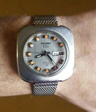 Vintage Seiko 5  6119 7400 automatic Day Date 40mm 1970 Serviced!!