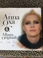ANNA OXA - 6 CD ALBUM ORIGINALE BOX SET - EUROVISION ITALY