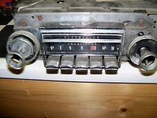 Working Original 1968 Oldsmobile AM Radio GM Delco Serviced with Knobs 7303143