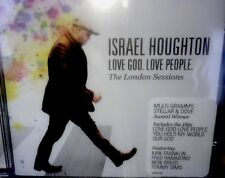 CD Israel Houghton. LOVE GOD, LOVE PEOPLE The London Sessions Only $4