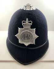 VINTAGE Leicester Rutland UK BOBBY POLICE Constabulary Hat 8 1/8 SHERLOCK HOLMES