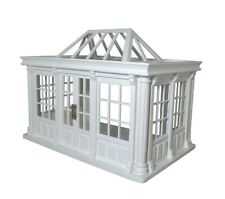 More details for dolls house 1/12th scale deluxe conservatory painted and assembled dh530