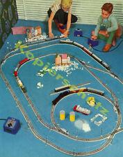 Fr. Lazi Farbfotografie Märklin Modelleisenbahn Zug Gleise Kinder Spielzeug 1958