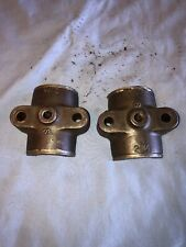 3 Hp Fuller Amp Johnson Hit Miss Gas Engine Main Bearing Caps
