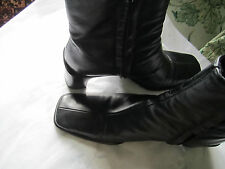 PIED A TERRE LEATHER BOOTS SIZE 36 (WORN FEW TIMES ONLY)