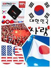2020官方版EVPad 4TV Box(4G+32G) 中国,香港,臺灣,日本,한국,USA TV BOX