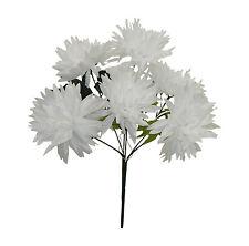 6 Fuji Mums ~ MANY COLORS ~ Centerpieces Silk Wedding Flowers Chrysanthemum