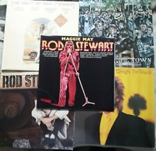 Rod Srewart job lot 5 lp.s  very good+ to excellent vinyl