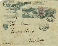1362-EMILIA ROMAGNA, BOLOGNA PER VARAPODIO (CALABRIA), OFFICINE MACCAFERRI,1927