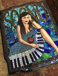 Award Winning Mosaic Coffee Table, Dream! Music! Sogno! Artist Los Angeles