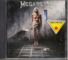 "MEGADETH ""COUNTDOWN TO EXTINCTION"" CD MADE IN HOLLAND / DAVE MUSTAINE"