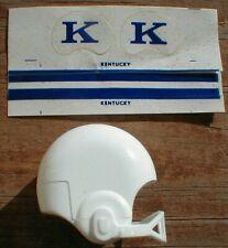 1970 NCAA Vintage Kentucky WILDCATS mini gumball football helmet decal college 2