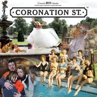Coronation Street 2019 Wall Calendar (16 Month Calendar)